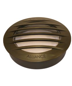Alliance Heavy Brass Grate & Clear Convex Lens - CGWL01-GRATE-475