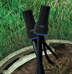 Dryconn Waterproof Connectors - Black/Blue (Large) - 61350-722