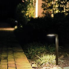 WAC Eclipse LED Path Light - 6031-27BK-0