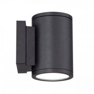 "WAC Tube 4"" Double Light Wall Mount - WS-W2604-0"
